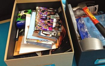 organize your junk drawer, organizing, Finding homes for all my clutter