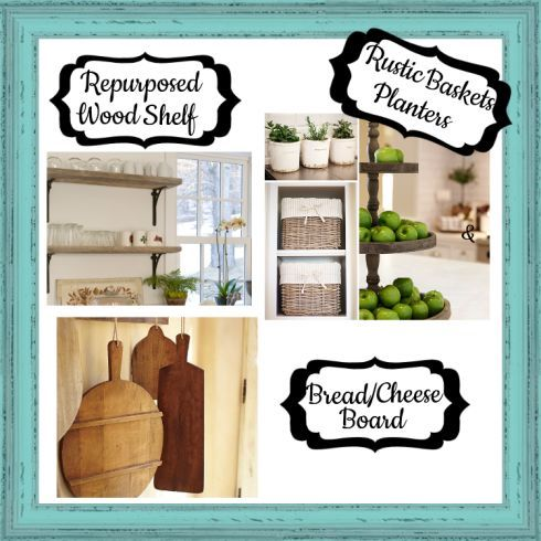 And here's what I have in mind for future projects! Notice the repurposed shelves...
