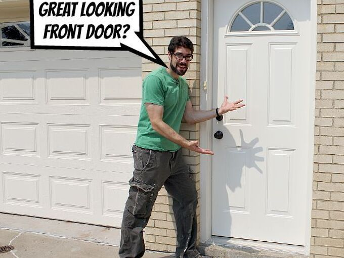 paint an exterior door and make it look awesome, curb appeal, doors, painting, Do you want a great looking exterior door Me too