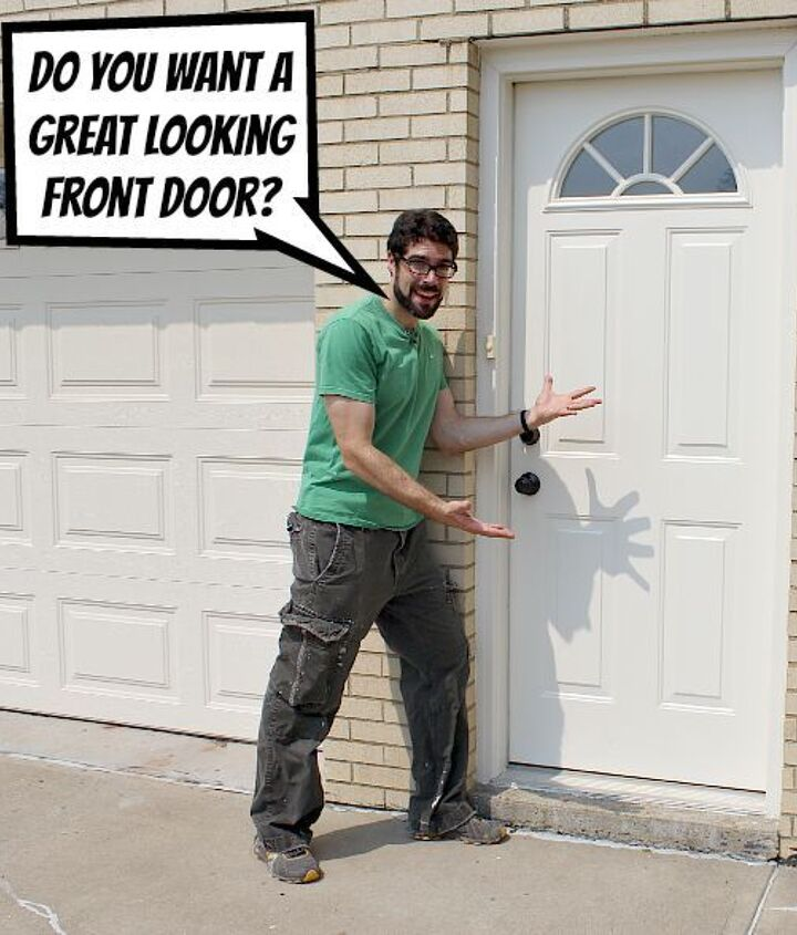 Do you want a great looking exterior door? Me too.