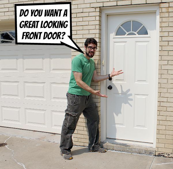 Paint An Exterior Door And Make It Look Awesome Hometalk