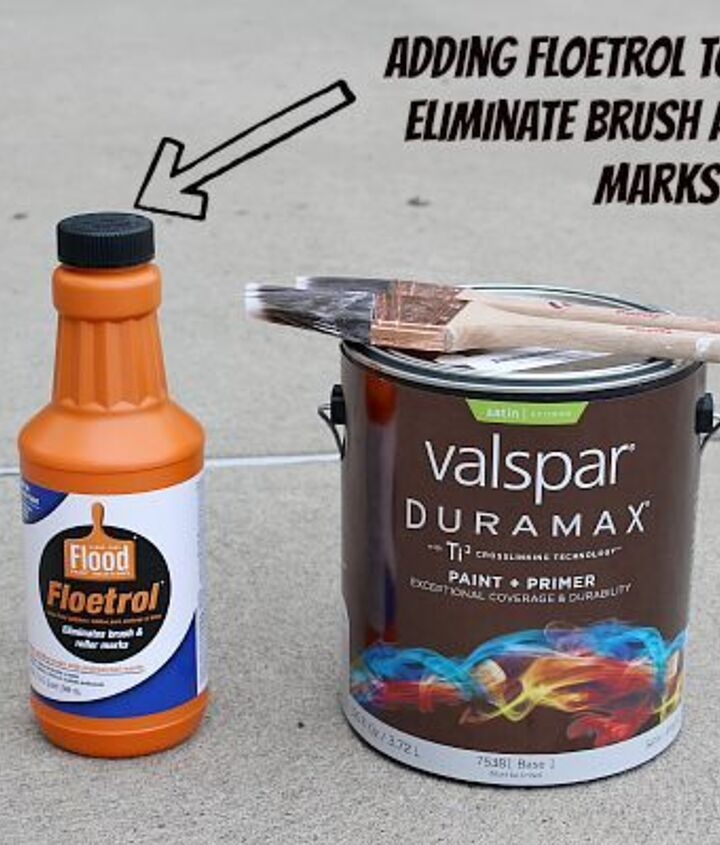 Add Floetrol to paint. It eliminates brush and roller marks.