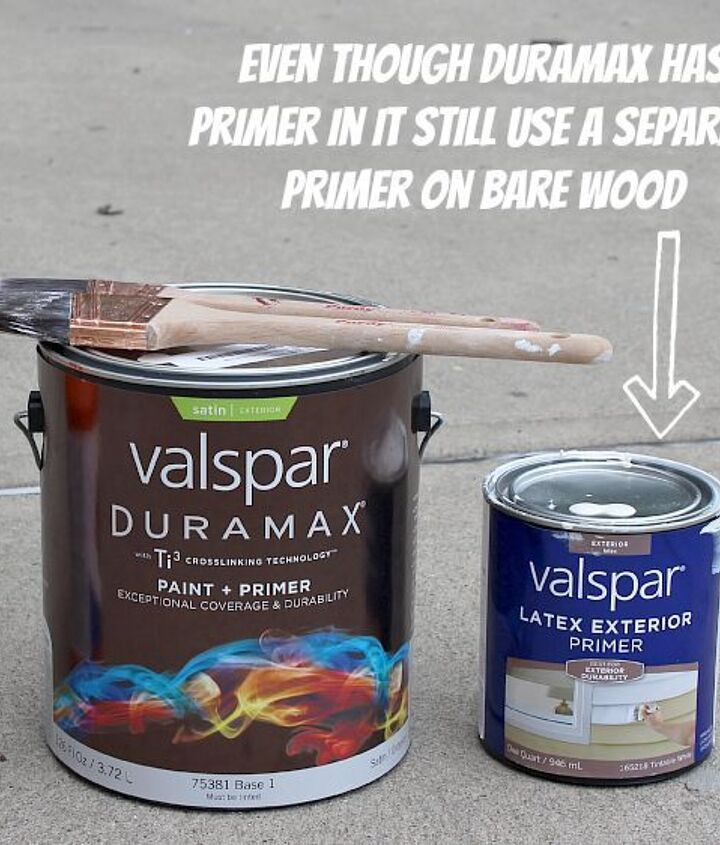 Prime bare wood even if your paint has primer in it.