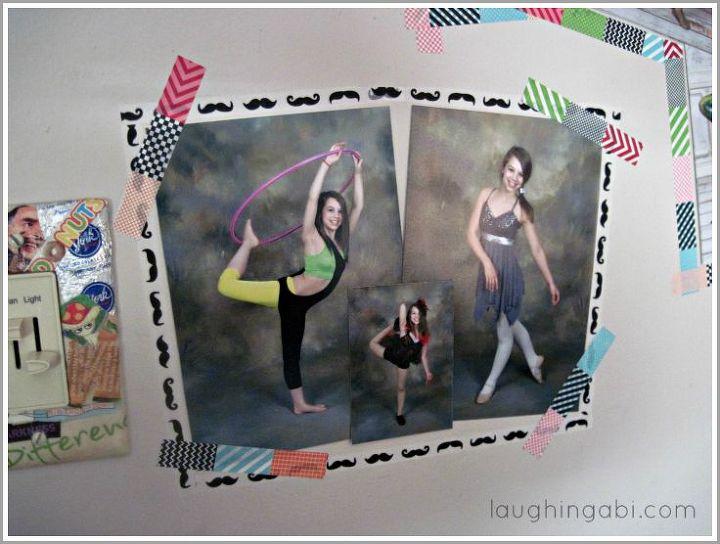 19 framed photos 0 nails 0 holes, crafts
