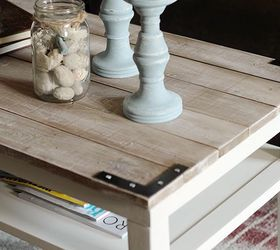 Diy Planked Farm Style Coffee Table, Diy, Painted Furniture, Repurposing  Upcycling, Woodworking