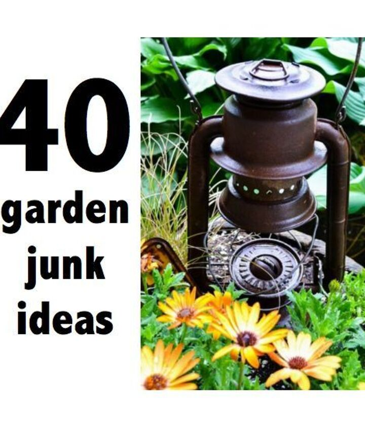 A HomeTalk clipboard of YOUR cool garden junk! http://www.hometalk.com/b/144398/garden-happy