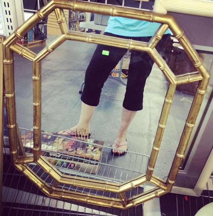 38ac065f0e4 how to gild a mirror solid gold baby