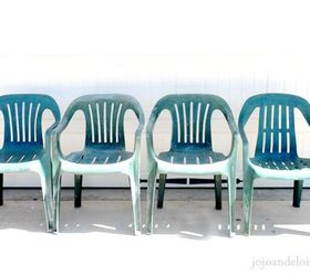 Bring New Life To Your Old Plastic Chairs With Krylon Spray Paint, Painted  Furniture Part 95