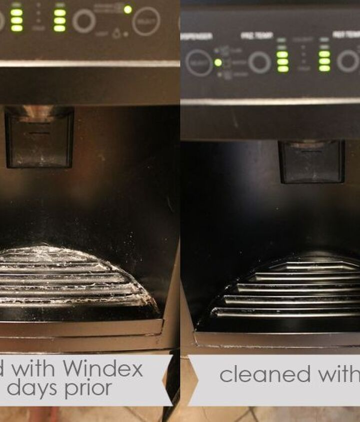water dispenser before and after