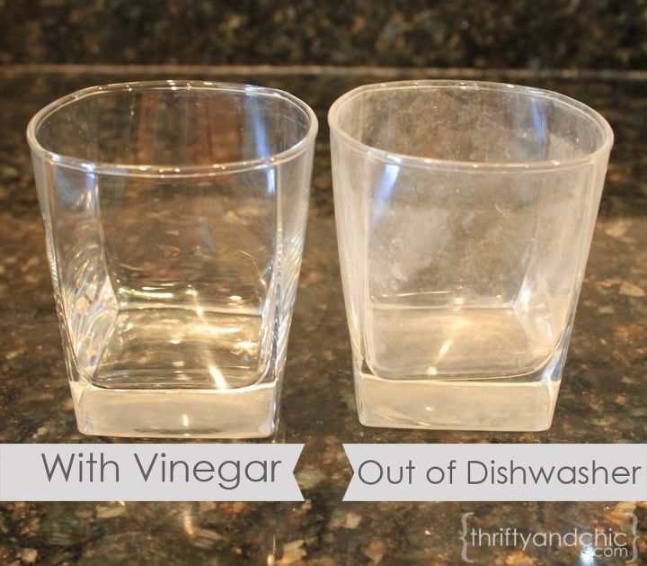 Cleaning hard water stains with vinegar | Hometalk