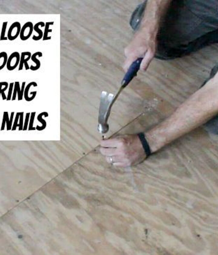 Secure loose subfloor panels