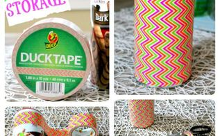 fun 5 minute project a cute easy diy storagesolutions, cleaning tips, crafts, repurposing upcycling, storage ideas, 5 Minute DIY Storage Solution