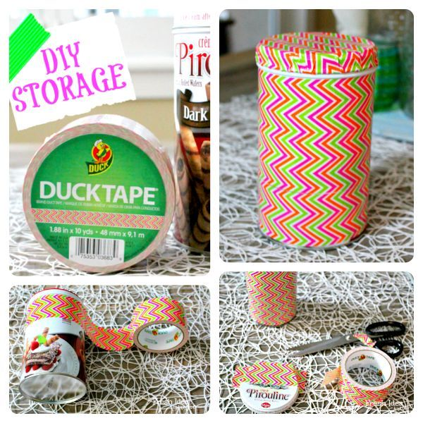 Fun 5 Minute Project A Cute Easy DIY KitchenStorage