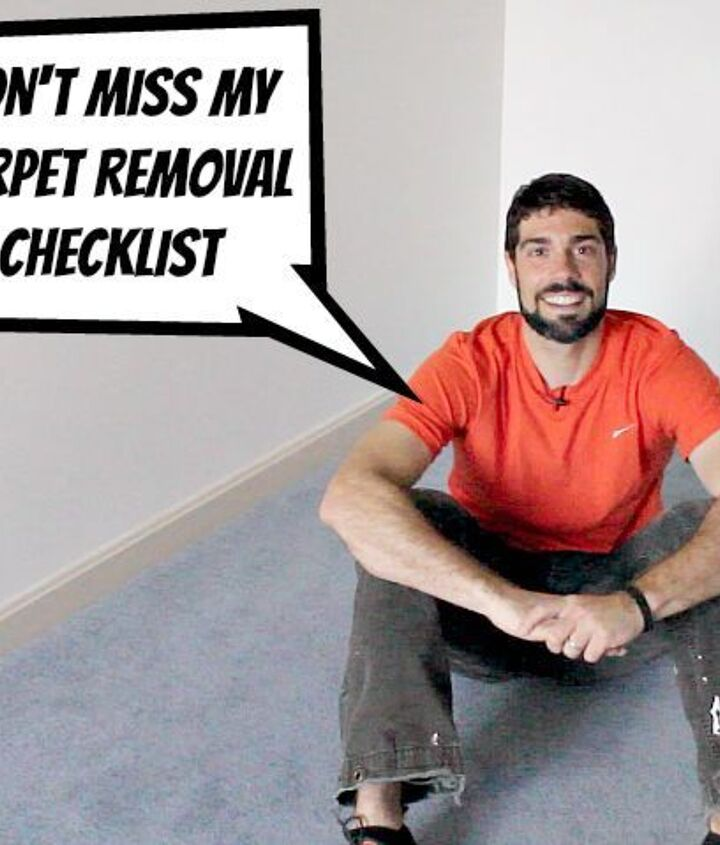how to remove old stinky carpet a complete step by step guide, diy, flooring, how to