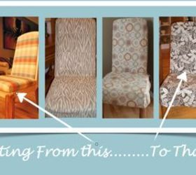 Slipcover Tutorial For Parson Chairs, Painted Furniture, Reupholster, These  20 Year Old Chairs
