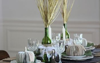romantic rustic fall tablescape, mason jars, repurposing upcycling, seasonal holiday d cor, Romantic Rustic Fall Tablescape