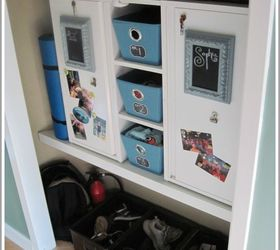 Finally Organized For Back To School Lockers In The Closet, Closet,  Organizing, Storage
