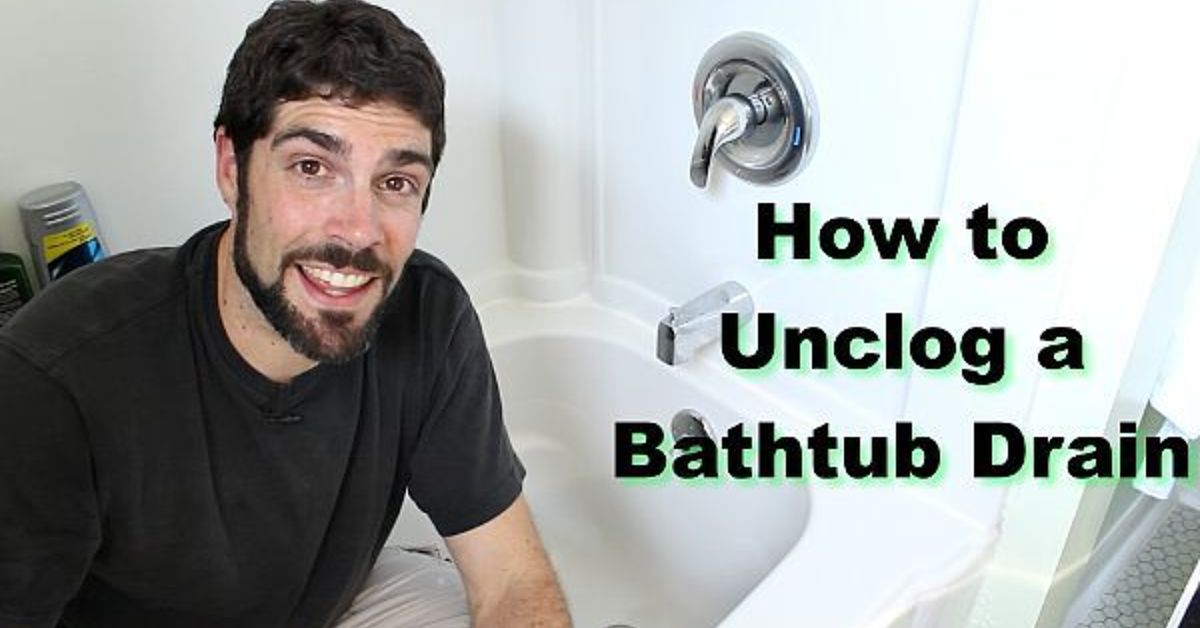 How to Unclog a Bathtub Drain (the Easy Way) | Hometalk
