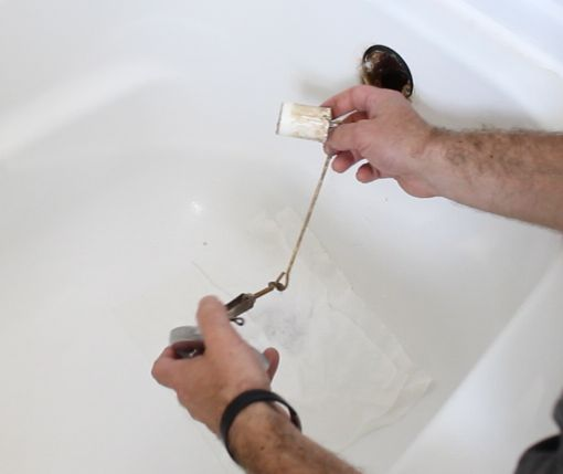 How To Unclog A Bathtub Drain The Easy Way Hometalk - Unclog bathroom tub drain