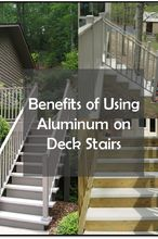 picture this you re almost done designing your perfect deck, decks, home improvement, outdoor living, stairs, Benefits of Using Aluminum on Deck Stairs