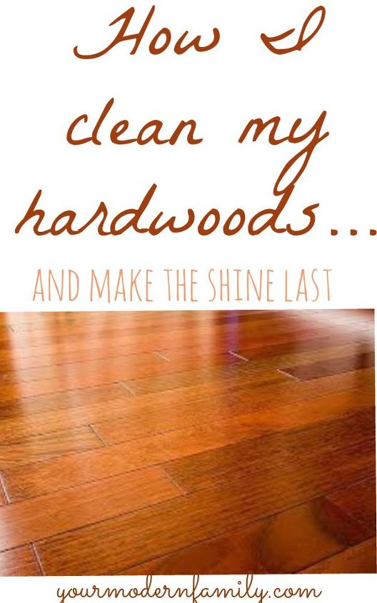 The Best Way To Clean Hardwood Floors Dark Floors Hometalk