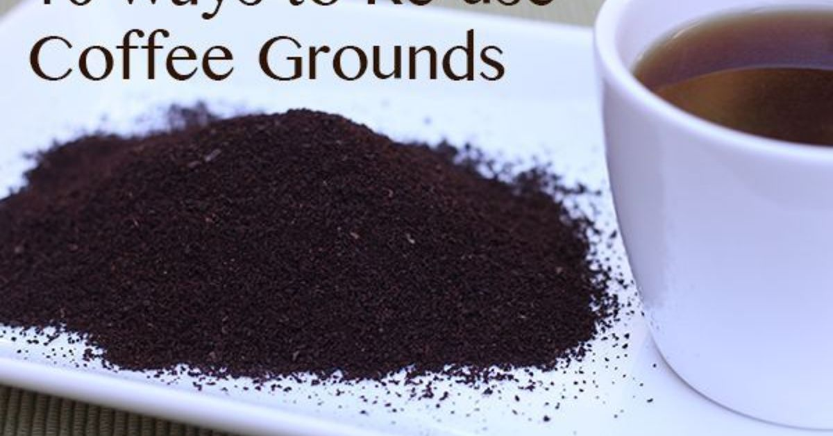 10 ways to reuse coffee grounds hometalk Coffee grounds for garden
