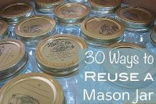 30 ways to reuse mason jars, crafts, mason jars, repurposing upcycling