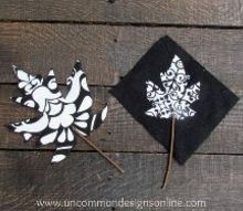 creating fabric leaves perfect for accenting your fall decor, crafts