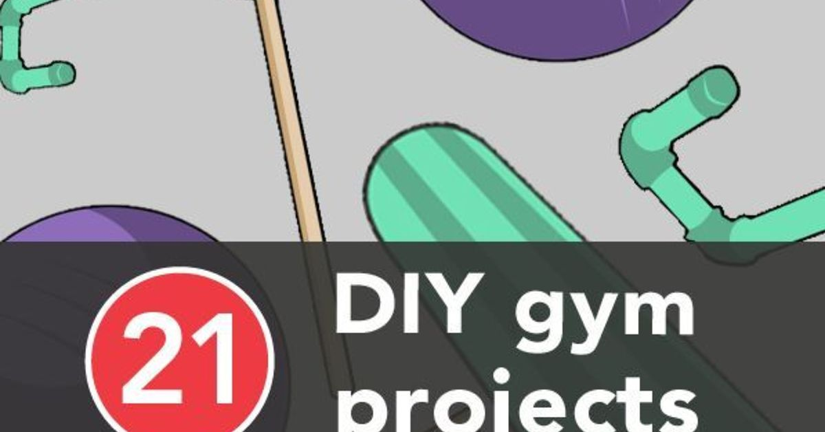21 Diy Gym Equipment Projects To Make At Home Hometalk