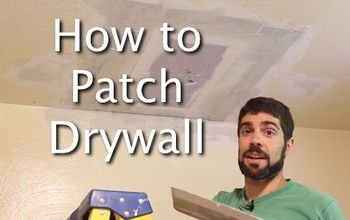 why i learned how to patch drywall and you should too, home maintenance repairs, how to, wall decor, How to Patch Drywall