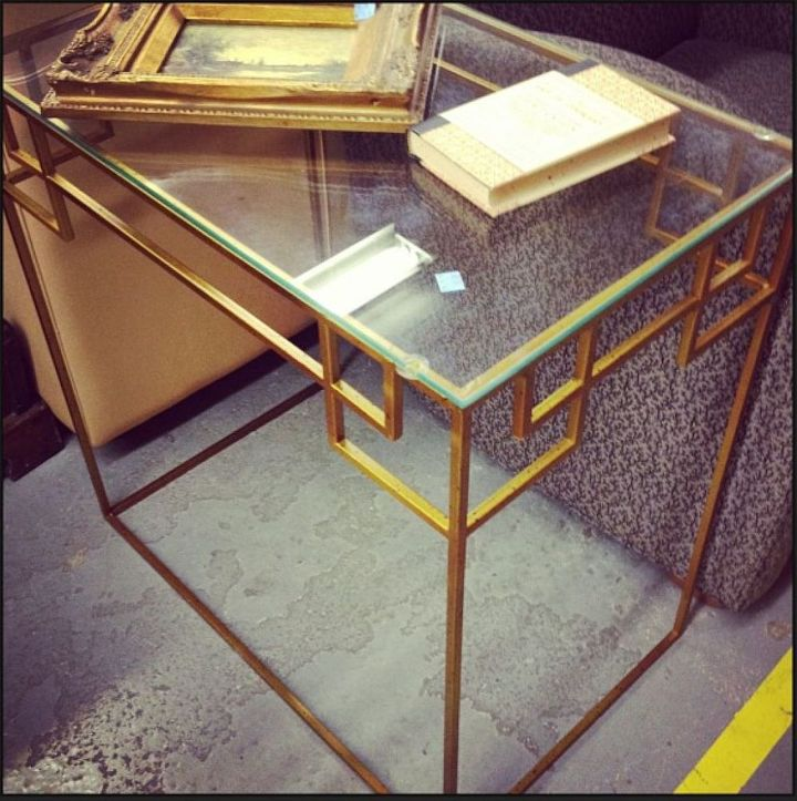 Shopping High End At Low Prices: Greek Key Console Table