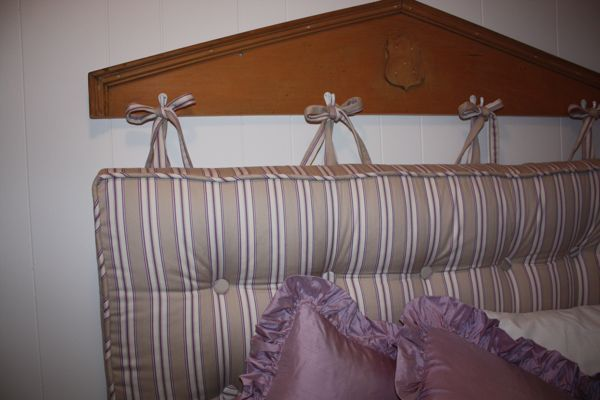 cottage diy headboard for a little girls room, bedroom ideas, home decor