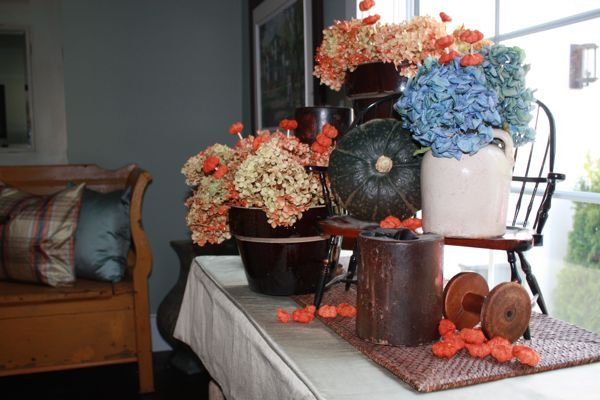 console table close up