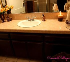 Animal Print Bathroom On A Budget, Bathroom Ideas, Home Decor