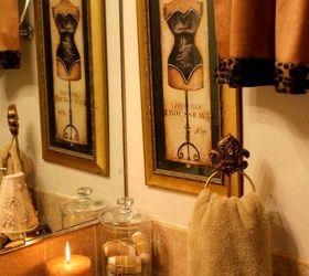 Charmant Animal Print Bathroom On A Budget, Bathroom Ideas, Home Decor