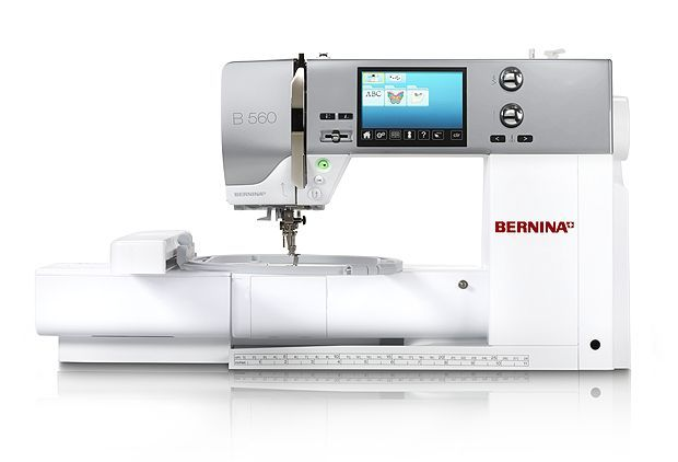 Bernina 560 with Embroidery module.