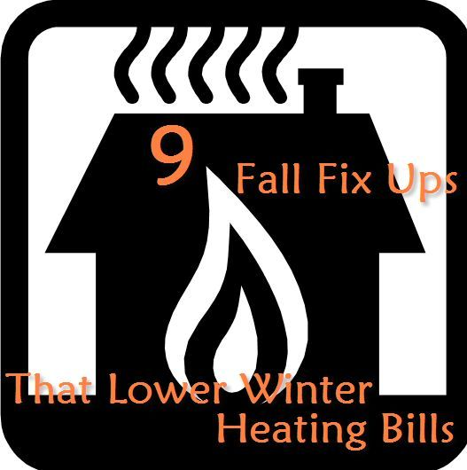 I'm listing some of the ways I seal up outside air leaks to prep the house for winter here. For more detailed information follow the link to my blog post.