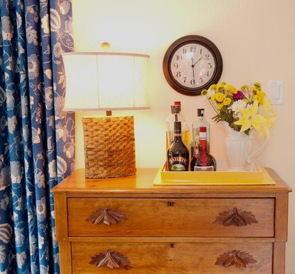 blue cottage makeover, home decor