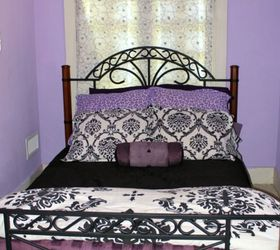 Teen Fun Purple Black And Zebra Bedroom Easyupdate, Bedroom Ideas, Home  Decor, Painted
