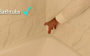 discover a new way to stop mold mildew, bathroom ideas, cleaning tips, kitchen design, Eliminate bathtub yuckiness