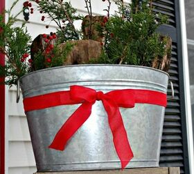 12 days of easy christmas decorating more christmas porch decorations curb appeal outdoor living & 12 Days of Easy Christmas Decorating: More Christmas Porch ...
