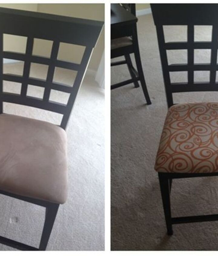 Dining Room Chairs Before & After