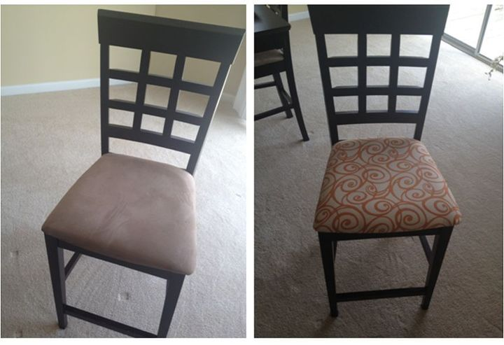 dining room sets for less   Four New Dining Room Chairs for Less than $10.00! {How to ...