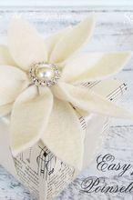 easy felt poinsettias for decorating, seasonal holiday d cor