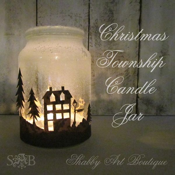 Decorating Candle Jars Christmas Township Candle Jar Hometalk 49