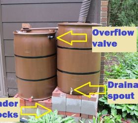 Water Your Garden Save Money And Live Green With A Rain Barrel, Gardening,  Go
