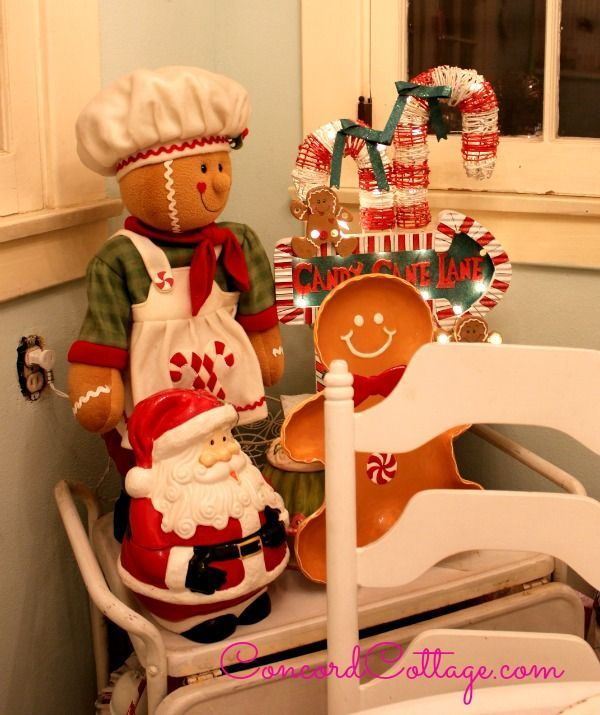 Christmas Kitchen Accessories: Holiday House Tour - Kitchen