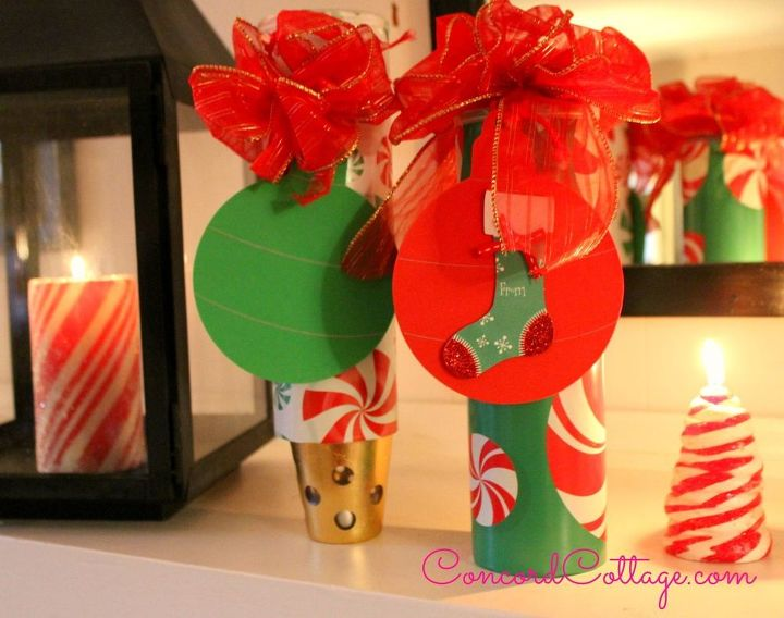 Add your bow and gift tags for a beautiful look.