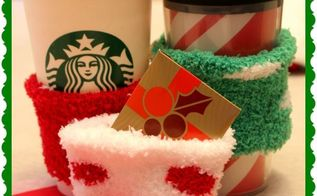 coffee cozies you can make with 1 store socks, crafts, repurposing upcycling