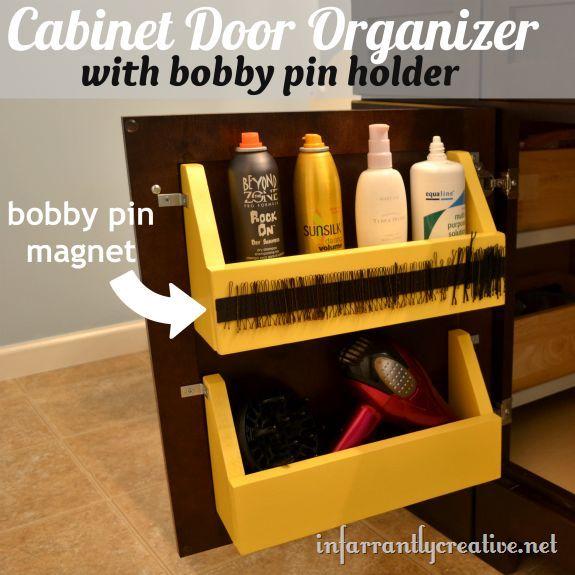 Cabinet Door Storage Hometalk